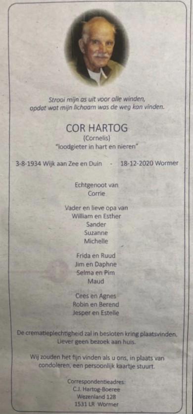 Cor Hartog